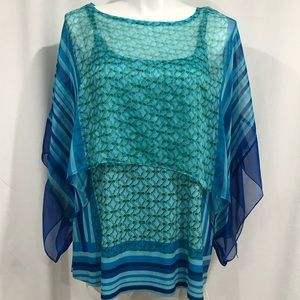 live and let love Woman Blouse in size 3X women's